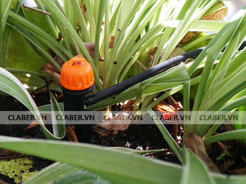 dau nho giot cay hong luu luong vua Đầu tưới nhỏ giọt điều chỉnh (lắp cọc) 0 40 l/h / 0 40 l/h adjustable dripper