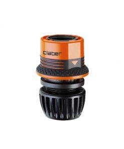 """Khớp nối nhanh ống nước nhựa hdpe mềm 1/2"""" - 5/8"""" đai cầm cao su. Hệ thống thiết bị tưới cây nhỏ giọt phun mưa tự động cao cấp."""