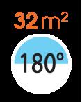 timthumb 116 Đầu tưới phun mưa rời 180° / 180° Head 1 Pc.