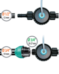 "timthumb 2 5 Van điện từ 9V / 9V 1/2"" Male solenoid valve"