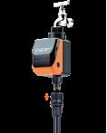 Bộ timer hẹn giờ tưới cây tự động tích hợp van điện từ nước Aquauno Logica Plus 8419.