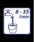 "timthumb 5 6 Van điện từ 9V / 9V 1/2"" Male solenoid valve"