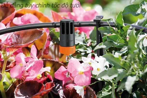 de dieu chinh tuoi1 1 6 lý do chọn hệ thống tưới nhỏ giọt cho nhà phố, biệt thự