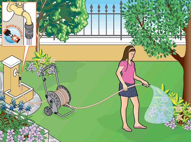 1204 Lắp đặt hệ thống tưới tự động cho sân vườn