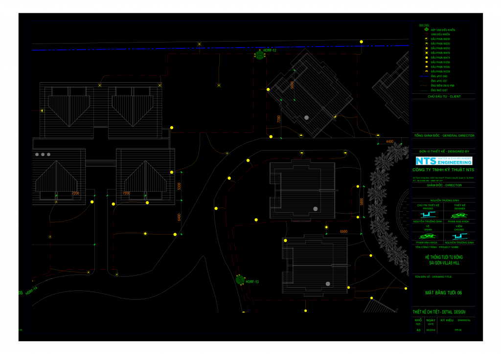 01 IRR CARMALINA 20 07 201 r2 DM Model 1 Bản vẽ AutoCad và thuyết minh thiết kế hệ thống tưới tự động khu resort Carmelina Hồ Tràm