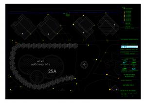Bản vẽ auto cad hướng dẫn thiết kế hệ thống tưới tự động, lắp đặt thiết bị tưới tự động.