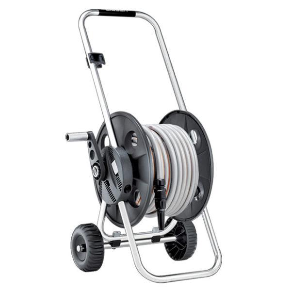 8863 600x600 Cuộn ống tưới cây có bánh xe Metal Junior Pronto 30