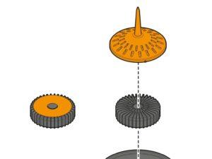 Sơ lược về nguyên lý hoạt động của cảm biến mưa Claber có dây 90915