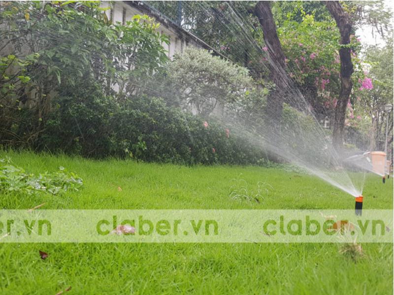 Thiết bị tưới Rainbird giải pháp tưới nước đẫm an toàn cho cây trồng