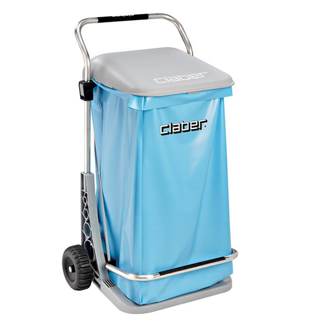 gio don vuon dang xe day 1 Giỏ đựng rác dạng xe đẩy/ Cary cart comfort
