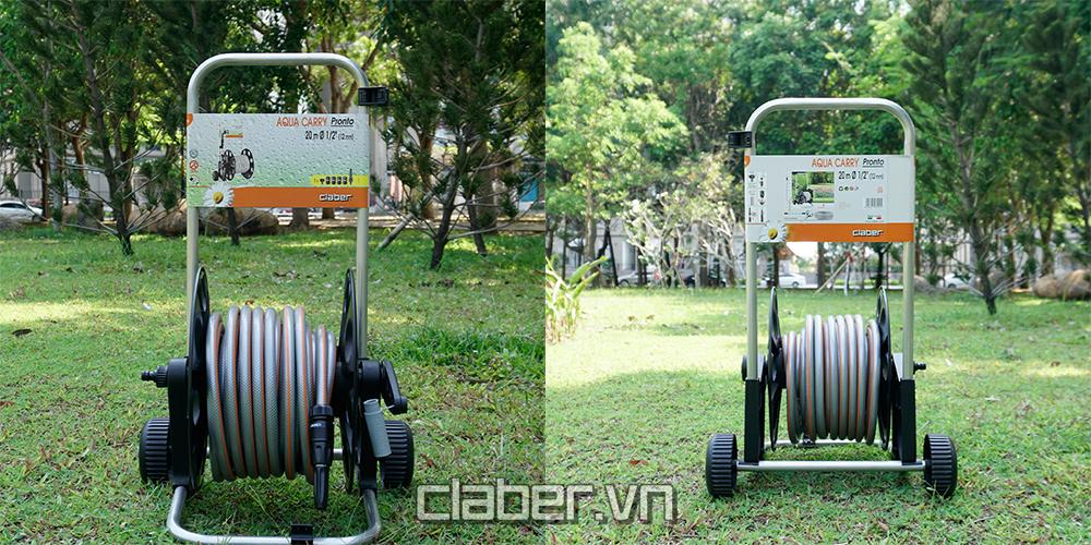 cuon voi tuoi cay dang xe day claber 8992 - chinh dien